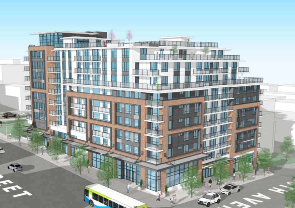 Rendering of Main and 6th